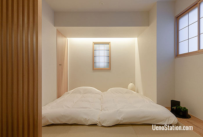 Japanese Style Deluxe Apartment with Futon