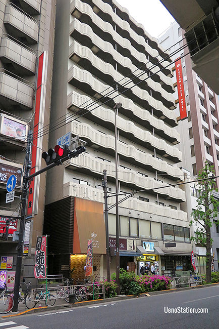 A street view of Sutton Place Hotel Ueno