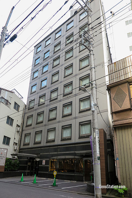 A street view of Vessel Inn Ueno Iriya Ekimae