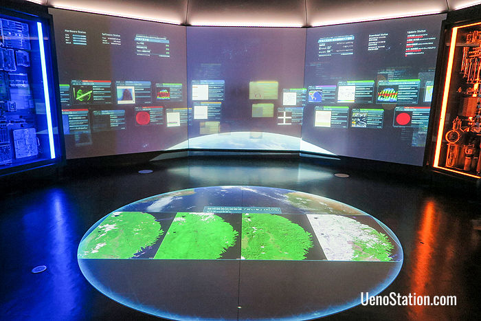 The Global Environment Detector on the 2nd floor