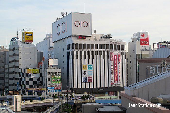 Ueno Marui is easily recognized by its OIOI logo