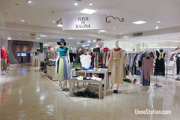 Fleur de Kalina: comfortable women's wear aimed at ladies in their 20s, on the 3rd floor