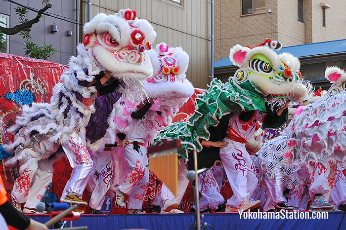 Chinese New Year celebrations at Yokohama Chinatown