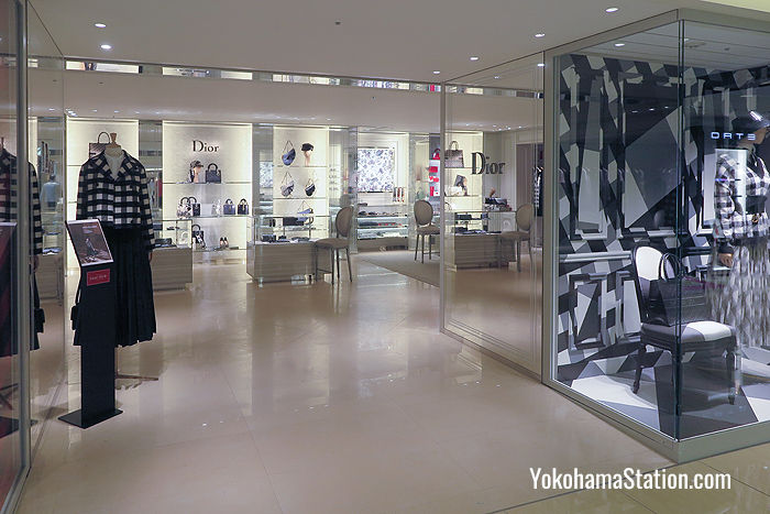 A Dior boutique on the 2nd floor