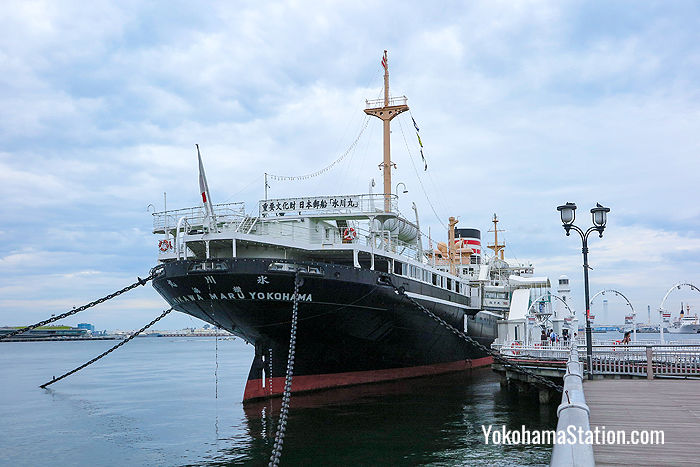 NYK also operate the museum ship Hikawa Maru