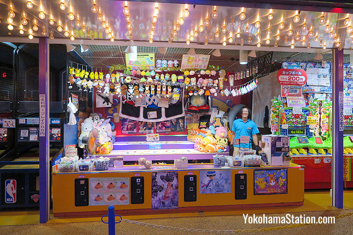 You can find carnival style game stalls in the Wonder Amuse Zone