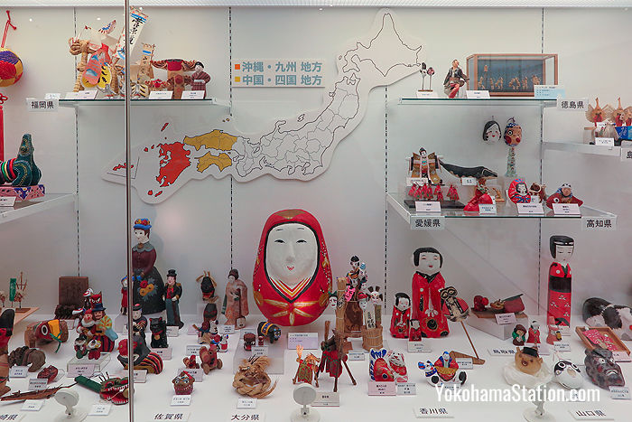 Dolls from Western Japan