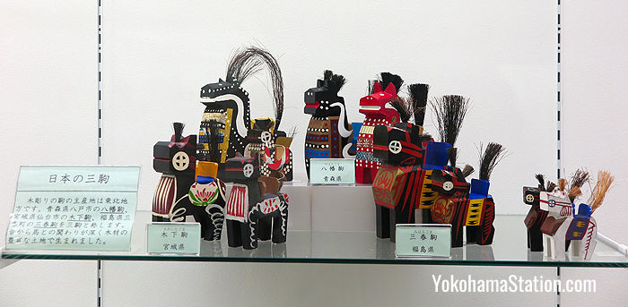 Horse dolls from northern Japan