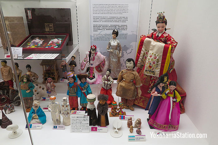 Dolls from Asia