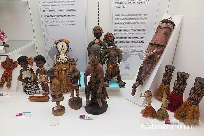 Dolls from Tonga and Papua New Guinea