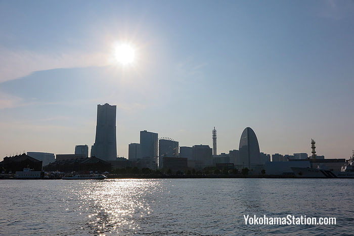 The Yokohama Skyline