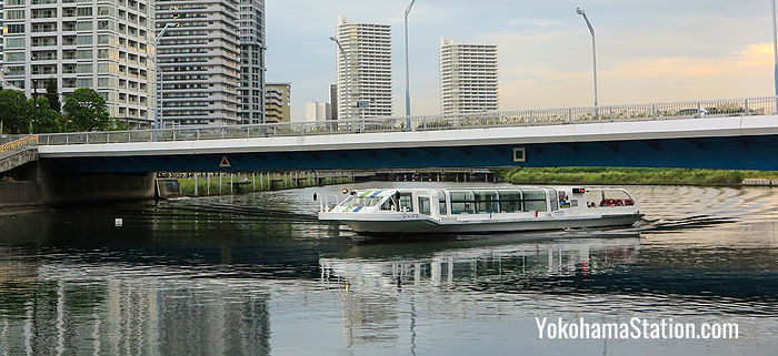 Yokohama Sea Bass – Water Bus Service