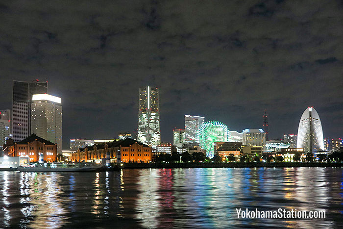 Yokohama Bay viewed from the Sea Bass