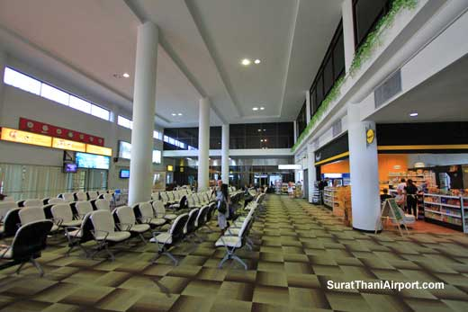 Surat Thani Airport Departure Gate