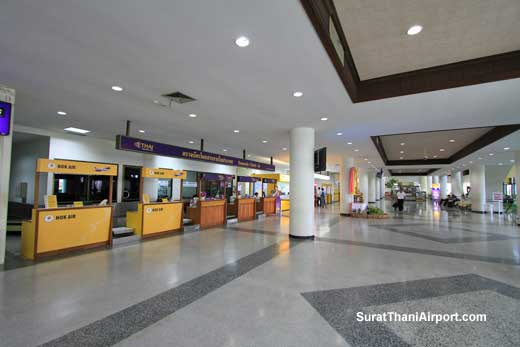 Nok Air Surat Thani Airport