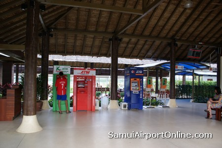 ATMs at Samui Airport Terminal