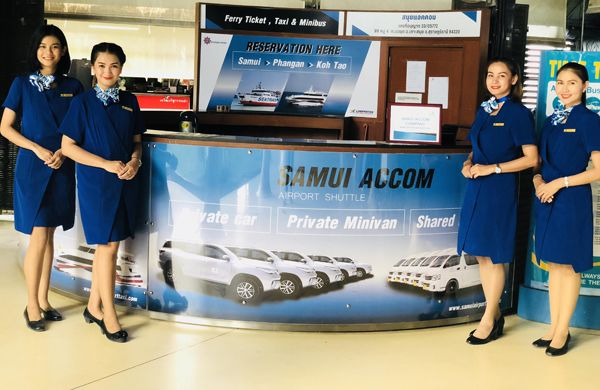 Samui Airport Transportation Counter