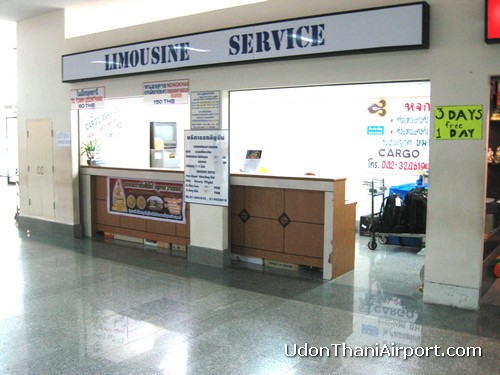 Udon Thani Airport Taxi Counter