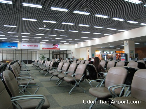 Udon Thani Airport Waiting Area