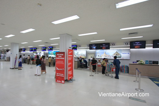Vientiane Airport Check-in Counters